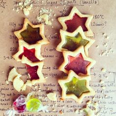 These Stained Glass Sugar Cookies are a cheap and ever so easy Christmas bake - either to make to decorate the tree or just to fill those empty belies!