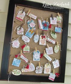Image result for stampin up tin of tags