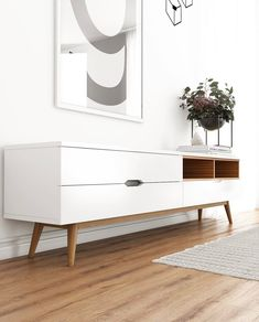 One of mid-century modern furniture that you should own is the TV stand. We've provided you with 17 mid-century modern TV stand designs. Mid Century Modern Living Room, Mid Century Modern Decor, Mid Century Modern Furniture, Midcentury Modern Tv Stand, Modern Tv Stands, Tv Furniture, Furniture Design, Nordic Furniture, Moving Furniture