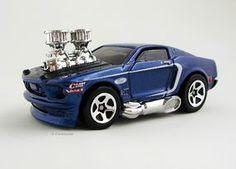 1968 Mustang ('Tooned) - Hot Wheels 2003