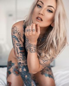 Tattooed and fit