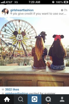 Definitely doing this with my best friend at disneyland
