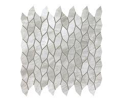 Marvel Stone mosaico twist grigio bardiglio von Atlas Concorde | Keramik Platten