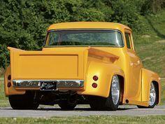 1956 Ford F-100 Truck - Featured Vehicles - Custom Classic Trucks - Hot Rod Network #classictrucks