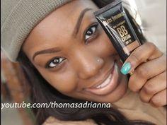 ▶ Flawless BB cream tutorial: Black Radiance BB cream - YouTube