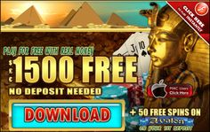 $1500 Free No Deposit Welcome Bonus + 50 Free Spins At RiverNile Casino(Microgaming) No US