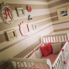 Baby girl nursery www.setapartdesigns.com