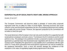 Patronal europea se opone a los 4 meses de permiso de paternidad