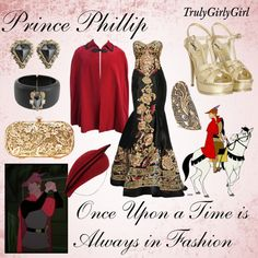 """""""Disney Style: Prince Phillip"""" by trulygirlygirl ❤ liked on Polyvore"""