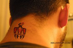Rise of #Phoenix #Tattoo on Your #Neck.