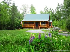 Each log home and cabin are created uniquely, from the design to the pieces of wood that make them,  ...