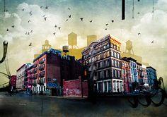 Cityscapes ll : Tim Jarosz