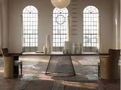 Contemporary style oval table VENEZIA | Table - COLLI CASA