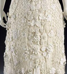 irish crochet clothing | Irish Lace Wedding Dress | IRISH CROCHET DRESS - Crochet — Learn How ...