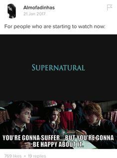 Supernatural || Harry Potter