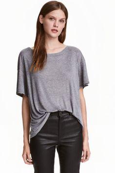 Top in a silk blend | H&M