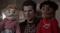 Shawn Spencer, the puppeteer.