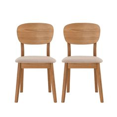 Spencer White Pair Of Chairs
