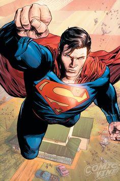 [Action Comics Superman isn't a fan of Lex Luthor Superman Dc Comics, Superman News, Supergirl Superman, Superman Family, Superman Man Of Steel, Superman Comic, Arte Dc Comics, Superman Wonder Woman, Dc Comics Art