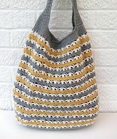 Crochet Market Bag - Tutorial