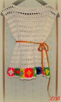 Mi nombre es Laura Barrios y te invito a conocer mi blog de tejidos.: Flores caladas.