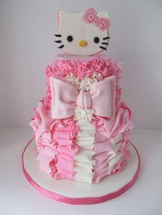 Pretty In Pink Hello Kitty 4th Birthday Cake