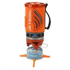 Jetboil Flash -- Big backpacking trip coming up. Needed at least one serious stove. I have been impressed by Jetboil while out with others, so I picked one up. Ultralight Backpacking Gear, Hiking Gear, Camping Gear, Cooking Cup, Innovative Systems, Cooking Supplies, Camping Stove, Camping Cooking, Survival Gear
