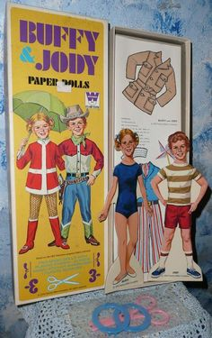 1970 Whitman BUFFY & JODY Paper Dolls *Mint! from cixiscollectibles on Ruby Lane