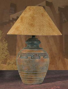 Southwestern Southwest Decor | Southwest Style Table Lamp