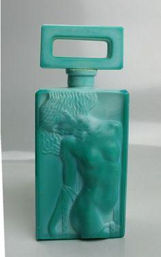 Malachite  Czech Art Deco perfume bottle (scheduled via http://www.tailwindapp.com?utm_source=pinterest&utm_medium=twpin&utm_content=post16557318&utm_campaign=scheduler_attribution)
