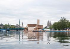ETH Zurich students build floating pavilion for Manifesta 11