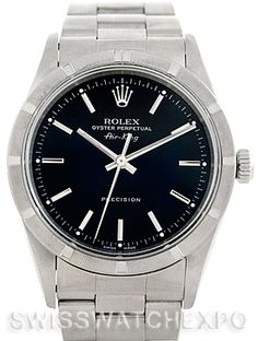 Rolex Air King Mens Steel Watch 14010