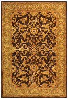 Safavieh Anatolia AN545B Brown / Tan Area Rug