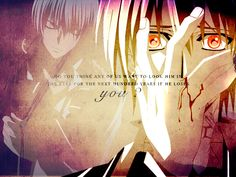 Find images and videos about quote, vampire knight and zero kiryu on We Heart It - the app to get lost in what you love. Best Love Stories, Love Story, Yuki And Zero, Matsuri Hino, Vampire Knight Zero, Zero Kiryu, Another Anime, Manga Love, Me Me Me Anime