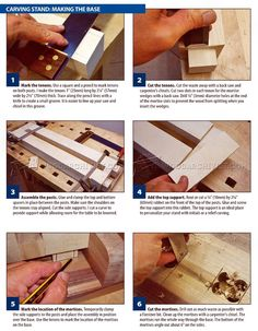 #607 Build Your Own Carving Stand - Wood Carving