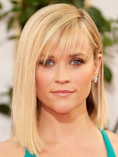 Bangs are a great way to make yourself look even younger! More celebrity anti-aging secrets: http://www.bhg.com/beauty-fashion/anti-aging/celebrity-anti-aging-secrets/?socsrc=bhgpin062814bangs&page=5