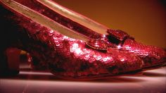 Gathering around Dorothy's ruby slippers, visitors to the National Museum of American History feel a personal attachment to the Wizard of Oz. American History Museum, Wizard Of Oz 1939, Red Slippers, Land Of Oz, Red Shoes, Loafers Men, Shoe Boots, Oxford Shoes, The Originals