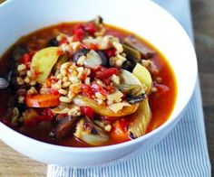 Quick and easy winter vegetable soup