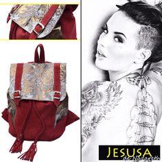 Mochila MOMA - Leather Bags - Shop online www.jesusadenazareth.com.ar