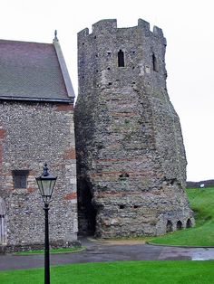 The Roman lighthouse at Dover Castle