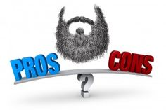 pros and cons of beards