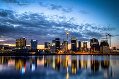 And another shot of the Oslo's skyline - by night this time. What do you think?  #Norway #Oslo