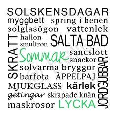 Sommartavla / Tavla sommar - made by Helle