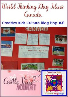 The post that caught my eye last month was this one from Use Resources Wisely about World Thinking Day Ideas: Canada. Books, crafts, recipes and activities