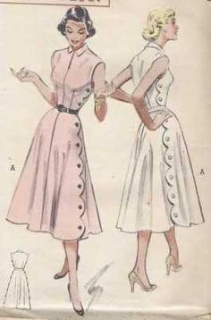 sewing patterns :: Butterick-5772-vintage-pattern {Looking for this one}