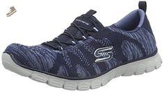 Skechers Women's Sport-Active EZ Flex 3.0 Take-The-Lead Sneaker Navy 8.5 M US - Skechers sneakers for women (*Amazon Partner-Link)