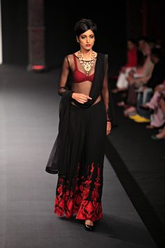 Bahl marries two very different collections at the opening show of Delhi Couture Week