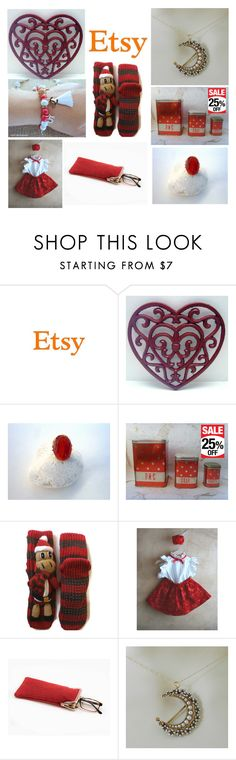 Red and white gifts for any taste... by luckystanlv on Polyvore