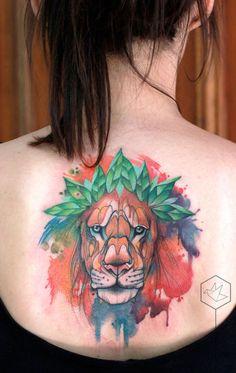 Les tatouages danimaux aquarelles de Aga Yadou  2Tout2Rien