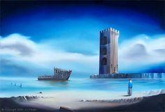 "Of Lost Souls - David Fedeli 24""x36"" Oil on Canvas"